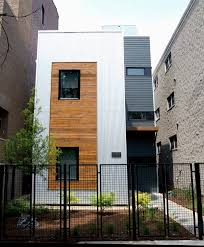 wood paneling exterior reclaimed wood chicago exterior contemporary with corrugated metal