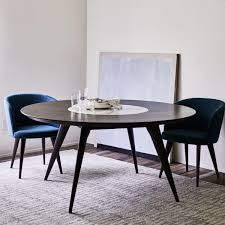 turner lazy susan dining table west elm uk