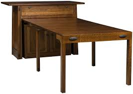 Pull Out Tables Countryside Amish Furniture - Kitchen pull out table