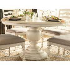 innovative ideas white round pedestal dining table cozy design
