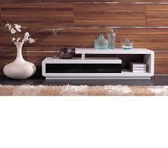 dreamfurniture com d3033 modern white and black tv unit