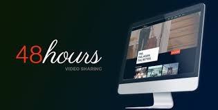 48hours video sharing a premium html template themelock com