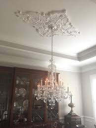 Diamond Chandeliers Ceiling Medallions For Chandeliers Lightings And Lamps Ideas
