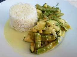 cuisiner des pois gourmands pois gourmands et courgette au curry qu est ce que tu cuisines