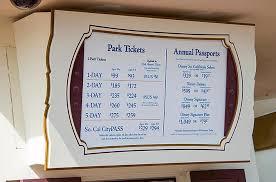 disneyland resort ticket prices for 2016