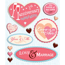wedding scrapbook stickers scrapbook bazaar new wedding anniversary stickers