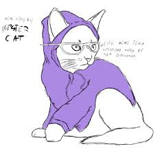 Hipster Kitty Meme - meme a day hipster cat by conan27 on deviantart