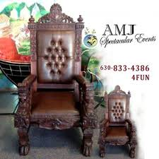 linen rental chicago rent royal chair for santa claus or other royalty in chicago il