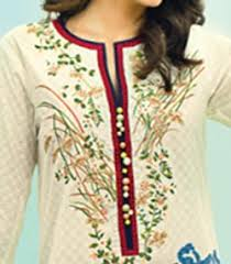 new lawn summer dresses neck cotton suits gala designs 2015