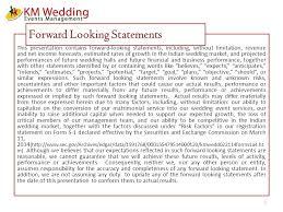 wedding statements km wedding events management inc a comprehensive wedding services