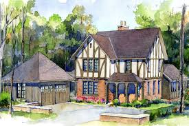 tudor house carapella architecture