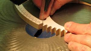 7 Free Wooden Gear Clock Plans by Cutting Wood Gear U0026 Clock Wheel Teeth Youtube