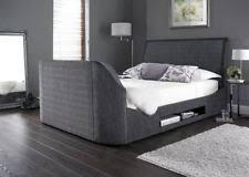 King Size Bed Super King Size Tv Bed Ebay