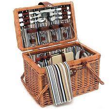 Wine Picnic Basket Wine Picnic Basket Ebay
