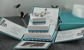 Wedding Invitations Box Jinky U0027s Crafts U0026 Designs Tiffany Inspired Invitation Box