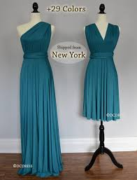teal green ball gown convertible bridesmaid dresses infinity