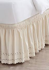 White Ruffle Bed Skirt Bed Skirts Queen King U0026 More Belk
