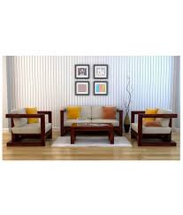 ethnic india art auster soild wood 5 seater sofa set buy ethnic