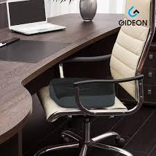 Office Chair Back Pain Amazon Com Gideon U0026 8482 Premium Orthopedic Seat Cushion For