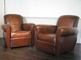 old leather armchairs good pair of 1930s french leather club chairs leather armchairs