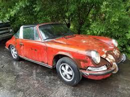 porsche 911 cheap porsche 911 t targa 1971 for restoration cheap car don t miss