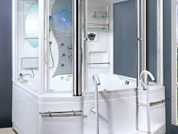 bath shower combo ideas splendid jetted bathtub shower combo 59