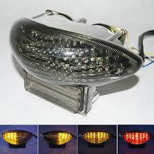 led lights for motorcycle for sale sale motorcycle smoke integrated led tail light turn signal for