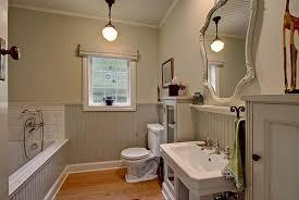 Pendant Lights For Bathroom - cottage full bathroom with crown molding u0026 drop in bathtub in
