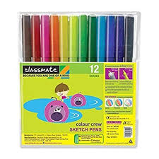 classmate stationery classmate sketch pens office stationery items s g distributors
