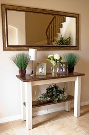 Entry Foyer Table Rustic Foyer Tables Foyer And Entry Way Tables Transitional Entry
