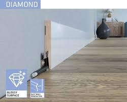 Laminate Flooring Skirting Boards Glossy Mdf Skirting Boards