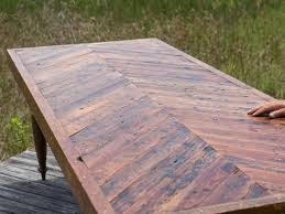 How To Make A Dining Room Table How To Build A Dining Table With Reclaimed Materials How Tos Diy