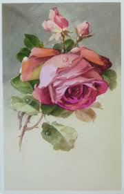 533 best rose renderings images on pinterest flowers paintings