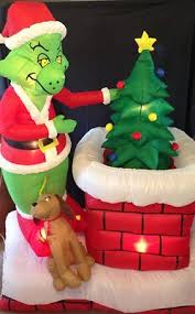 Grinch Christmas Decorations Sale 59 Best Decorative Inflatables Images On Pinterest Pumpkins