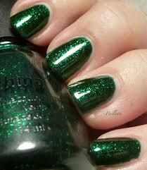 paillette a little nail polish journal perhaps the best green