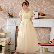 aliexpress com buy plus size bridesmaid dress with sleeve