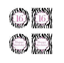 10 best images of zebra label borders free printable free
