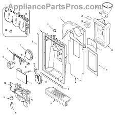 whirlpool 61004441 pad acuator appliancepartspros com