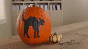 how to paint a halloween pumpkin youtube