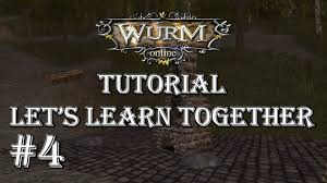 wurm online tutorial 4 terraforming and house planning youtube