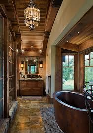 bathroom wood ceiling ideas charming rustic bathroom design ideas abpho