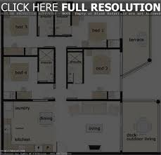 100 floor plan of a bungalow house 50 3d plans lay 4 bedroom in