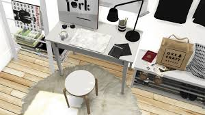 my sims 4 blog ikea office set tjusig hallway set and dc shoes