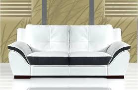 canap cuir italien canape cuir blanc 2 places canapac 2 places cuir italien blanc et