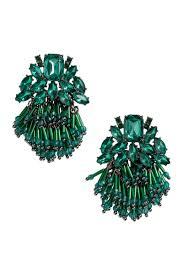 hm earrings earrings with rhinestones green women h m us