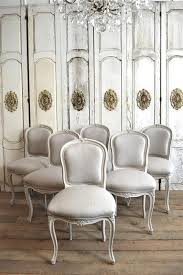 antique french dining table and chairs dining room chairs french style in antique white pertaining to