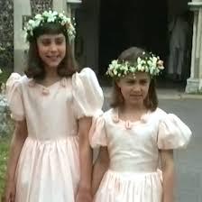 kate and pippa middleton bridesmaids at u002790s wedding video