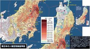 Chernobyl Fallout Map by Worst Case Scenario Around The Fukushima Mega Nuclear Disaster