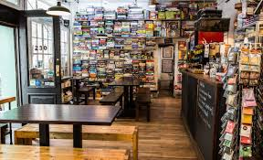 coffee shop in new york there are game stores and there are coffee shops we thought why
