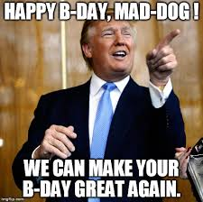 Make A Birthday Meme - donal trump birthday imgflip